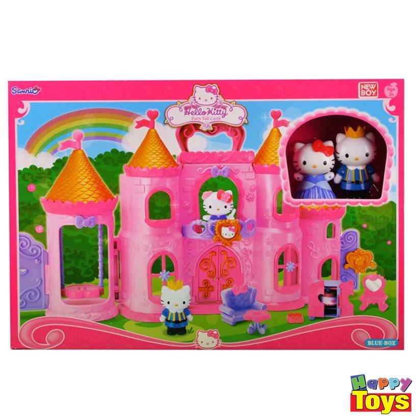 kitty fairy tale castle ฮัลโหลคิตตี้ชุดปราสาทเทพนิยาย