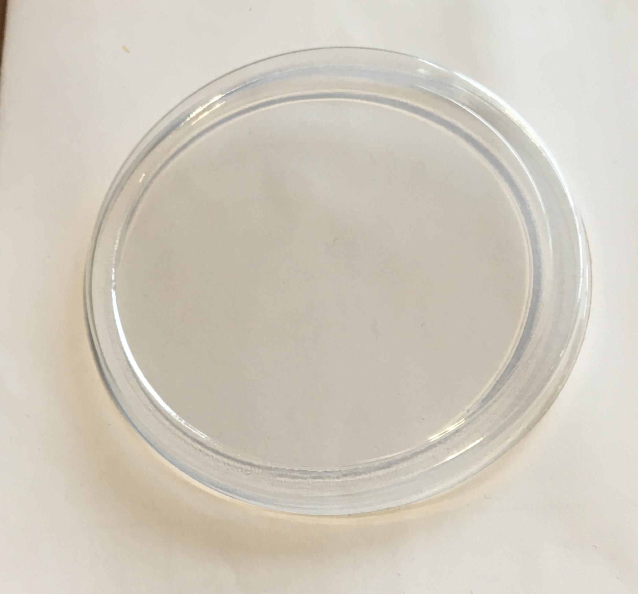 ฝาปิดถ้วยไอศครีมพลาสติกใส (ถ้วย 4 Oz)