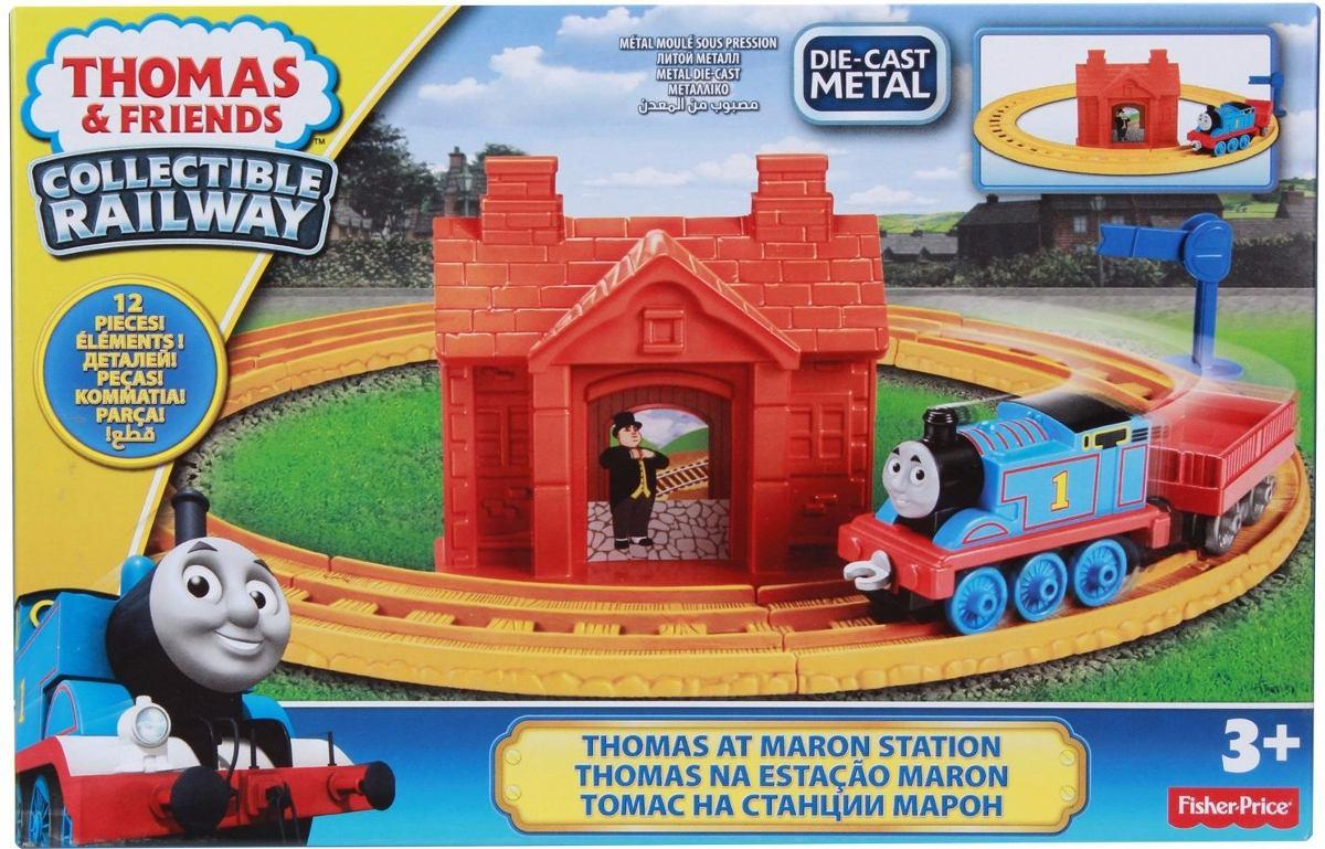 รถไฟโทมัส โทมัส Thomas and Friends Collectible Railway - Thomas at Maron Station