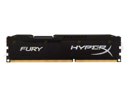 4 GB RAM PC DDR3/1600 KINGSTON HYPERX FURY BLACK