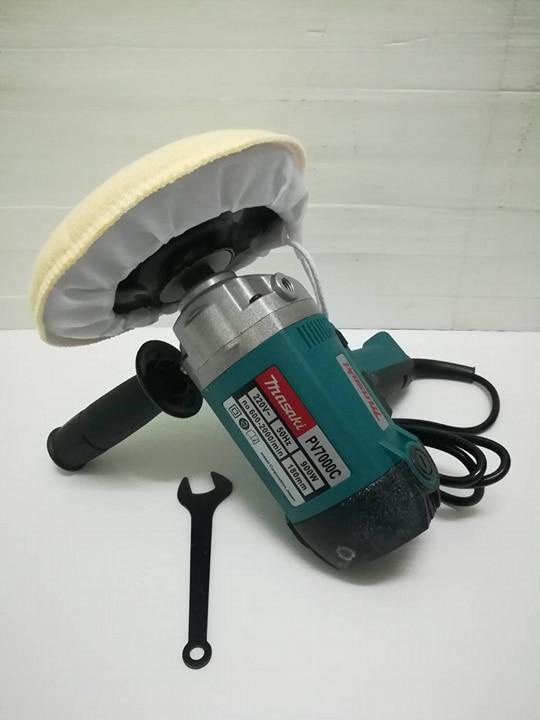 เครื่องขัดสี Masaki รุ่น PV7000C ขนาด 7นิ้ว ฟรี! ผ้าขนแกะ ขัดเงา