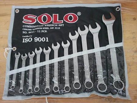 ประแจแหวนข้าง SOLO 11ชิ้น