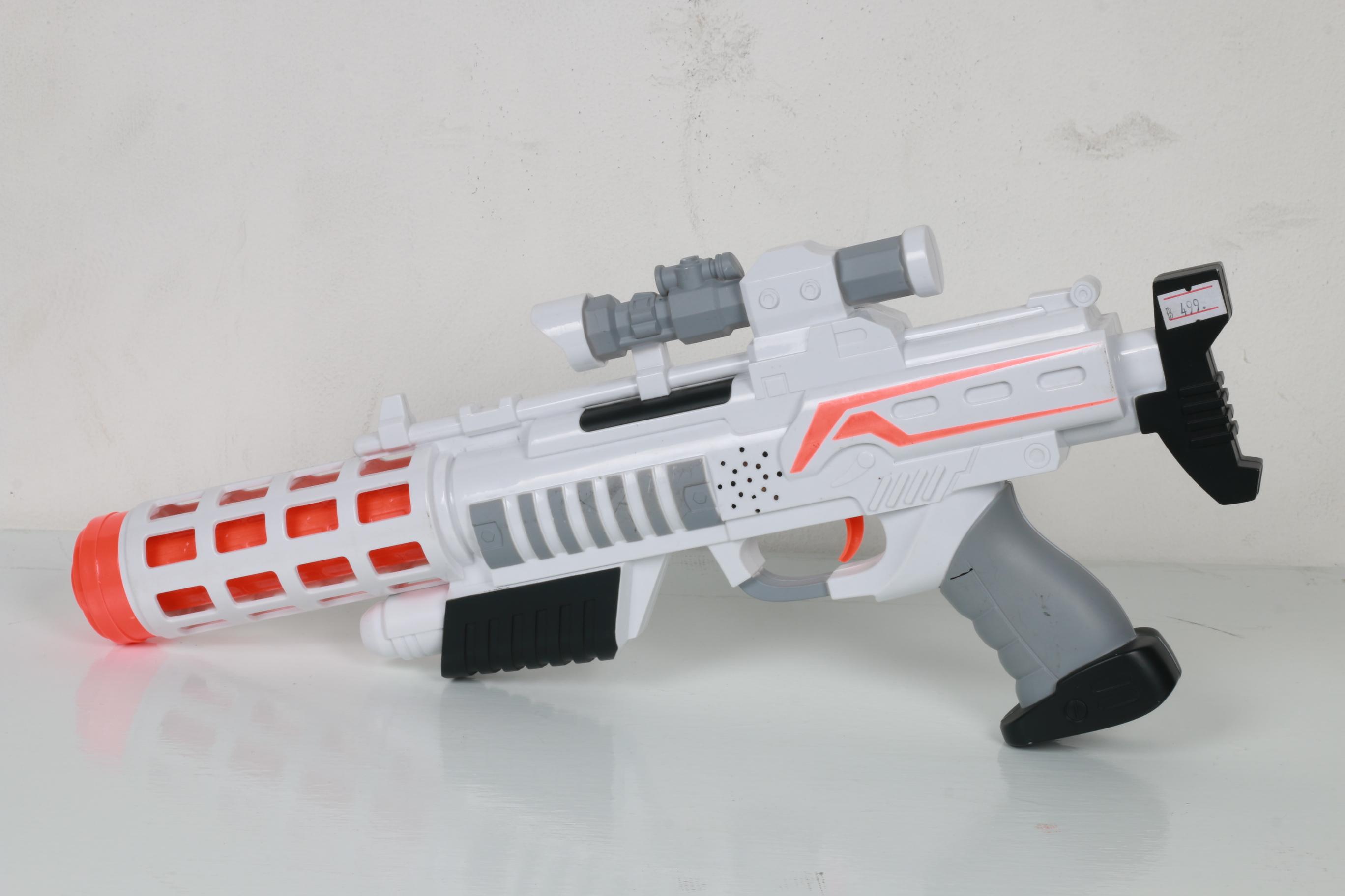 ปืน Guardian gun ปืนไฟของเล่นมีไฟมีเสียง สำหรับเด็ก