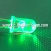 หลอดไฟ LED สีเขียว 5 ม.ม. (สอบถามราคาพิเศษ)