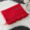 Imitation cashmere scarft ผ้าพันคอ (สีแดง)
