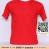 E.ขายเสื้อ เสื้อยืดสีพื้น สีแดง ไซค์ขนาด 32 นิ้ว