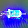 หลอดไฟ LED สีน้ำเงิน 5 ม.ม. (สอบถามราคาพิเศษ)