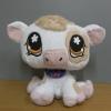 วัว สีขาว ขนาด 9 นิ้ว (Hasbro) มือสอง