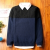 Super warm ticker men's sweater