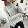 SUMIYA women sweater กันหนาว คุณภาพดี (สีเทา)