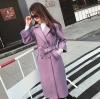 เสื้อโค้ท PASSM คุณภาพดี ผ้า Wool กันหนาว (สี lavender)