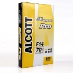 กระดาษถ่ายเอกสาร ALCOTT F14 70g