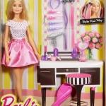Barbie ตุ๊กตาบาร์บี ของเล่นเด็กผู้หญิง บาร์บีเซตมาพร้อมเซตของใช้