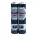 ถ่าน Panasonic AAA Neo สีดำ แพ็คละ2ก้อน