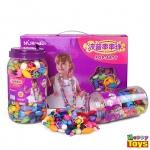 POP-ARTY ของเล่นออกแบบเครื่องประดับ ของเล่นเสริมพัฒนาการเด็ก 65 ชิ้น