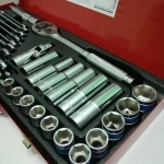 ชุดบล็อก 4 หุน ยูโรคิงทู (Euro King Tools) 29ชิ้น/ชุด