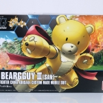BEARGGUY III (SAN) BUILD FIGHTER CHINA KOUSAKA CUSTOM MADE MOBILE SUIT