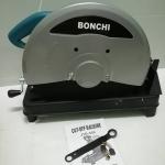 ไฟเบอร์ตัดเหล็ก.BONCHI ฟ้า มอเตอร์ ทองแดงแท้ 100% แถมฟรีใบตัดเหล็ก14นิ้ว 1แผ่น