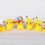 เซตปิกาจู 6ตัว จากTOMY-Tart pikachu pokemon ปิกาจูงานทีอาร์ท