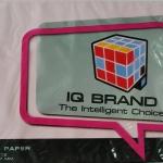 กระดาษสี IQ A4 80g สีชมพูอ่อน 500แผ่น