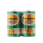 ถ่าน Panasonic D Gold สีเขียว แพ็คละ2ก้อน