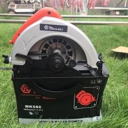 วงเดือน masaki MK 580 แถมฟรี ใบเลื่อย 24 ฟัน