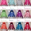 Women's Ultra light slim Down jacket ผสมขนเป็ด Duck down 90% !! (สีฟ้า) thumbnail 9