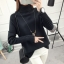 SUMIYA women sweater กันหนาว คุณภาพดี (สีดำ) thumbnail 1