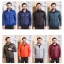 Men's Ultra light slim Down jacket ผสมขนเป็ด Duck down 90% !! (สี Wine) thumbnail 13