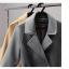 เสื้อโค้ท PASSM คุณภาพดี ผ้า Wool กันหนาว (สีดำ) thumbnail 12