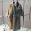 เสื้อโค้ท PASSM คุณภาพดี ผ้า Wool กันหนาว (สีดำ) thumbnail 10