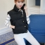 Women's winter vest jacket (Black) thumbnail 1