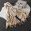 Imitation cashmere scarft ผ้าพันคอ (สี Beige) thumbnail 6