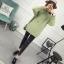 SUMIYA women sweater กันหนาว คุณภาพดี (สีเขียว) thumbnail 5