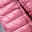 Women's Ultra light slim Down jacket ผสมขนเป็ด Duck down 90% !! (สีฟ้า) thumbnail 5