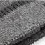 High quality winter wool hat หมวกไหมพรหมพร้อมผ้าพันคอ (สีน้ำเงิน) thumbnail 5