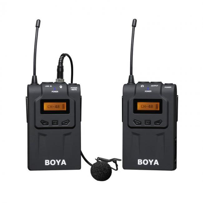 BOYA BY-WM6 UHF 48 Channels Pro wireless Microphone