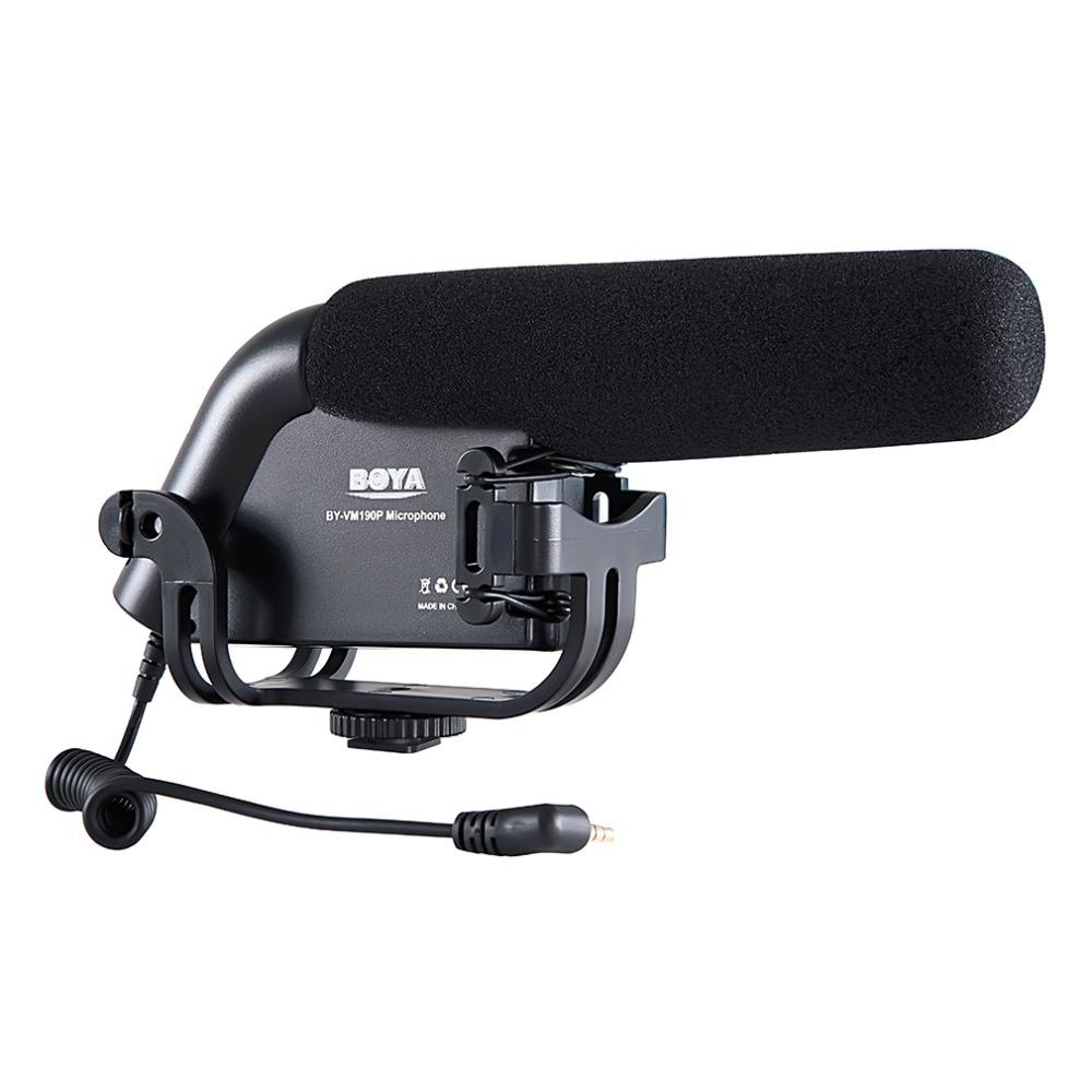 BOYA by-vm190p Camera Mounted Shotgun Microphone For DSLR Camera