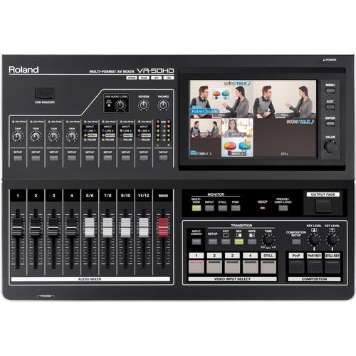 AV Mixer Roland VR-50HD Multi-Format