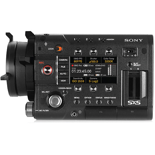 กล้องวีดีโอ Sony PMW-F5 CineAlta Digital Cinema Camera