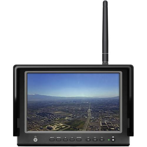 """จอมอนิเตอร์ Lilliput 664/W 7"""" FPV Monitor with 5.8 GHz Wireless Receiver"""