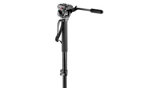 ขาตั้งกล้องวีดีโอ Manfrotto 561B Fluid Video Monopod with Fluid Head