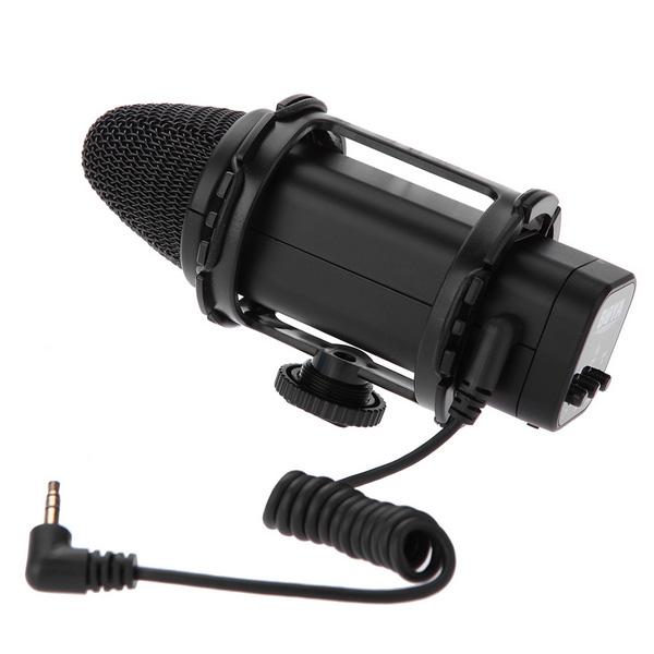 BY-V02 Boya stereo Microphone For DSLR Camera DV Camcorder