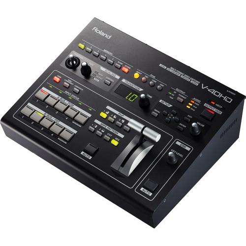 สวิตซ์เชอร์ ROLAND V-40HD Multi-format Video Switcher