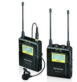 Saramonic Wireless TX9 Set 1 UHF Wireless Microphone Package