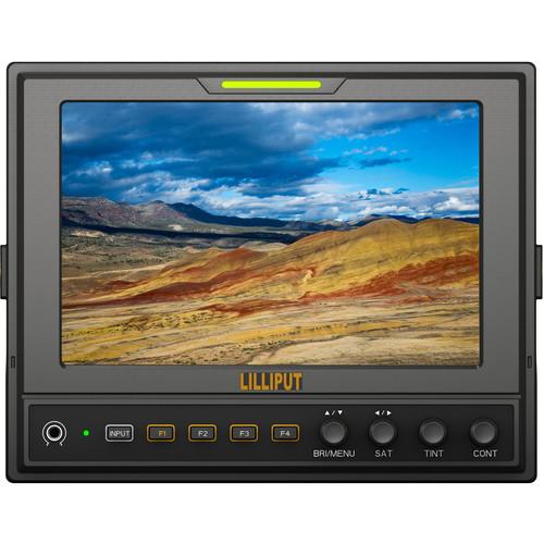 จอมอนิเตอร์ Lilliput 662/S นิ้ว 3G-SDI/HDMI Field Monitor