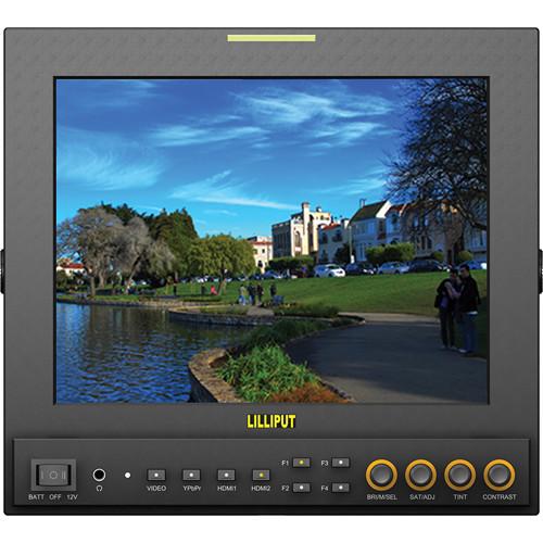 """จอมอนิเตอร์ Lilliput 969A/S 9.7"""" LED-Backlit HD Broadcast Monitor"""