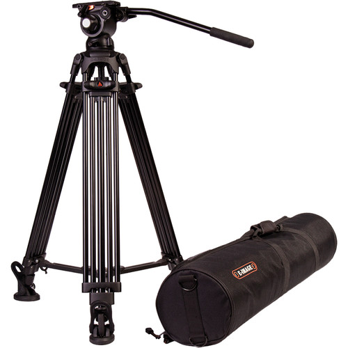 ขาตั้งกล้องวีดีโอ E-Image รุ่น EG03A2 2-Stage Aluminum Tripod