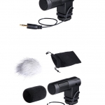 BY-V01 Boya stereo X and Y Microphone For DSLR Camera DV Camcorder