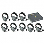 COMSTAR XT-8 8-User Full Duplex Intercom Wireless System